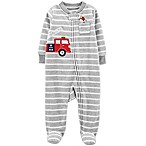 carter's® 3M Firetruck Fleece Sleep & Play