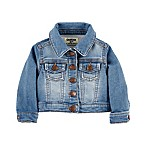OshKosh B'gosh® Size 0-3M Fountain Wash Knit Denim Jacket
