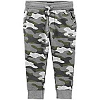 OshKosh B'Gosh® Size 6-9M Classic Fit Cinch Pants in Camo