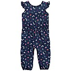 carter's® Size 3M Bird Sleeveless Coverall in Navy