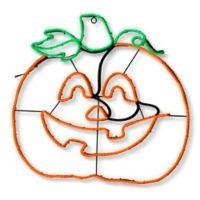 National Tree Company® 24-Inch LED Pumpkin Halloween Decoration