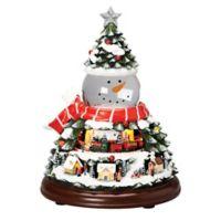 Roman, Inc. 10-Inch LED Snowman Head Swirl Dome