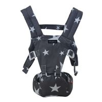 MiaMily Doll Hipster™ Toy Carrier in Grey Star Print