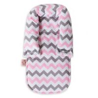 Bambella Designs Chevron Head Support in Pink