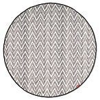 SKIP*HOP® Grab & Go Round Trip Travel Mat in Grey Zig Zag
