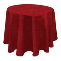 Monterey 70-Inch Round Outdoor Tablecloth in Red