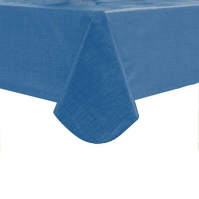 Monterey 52 Inch X 70 Inch Outdoor Tablecloth In Dusty Blue