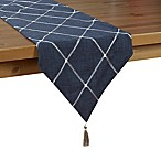 Sam Hedaya Wellington 90-Inch Table Runner in Navy