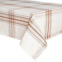 Ariana Plaid 52-Inch x 70-Inch Oblong Tablecloth