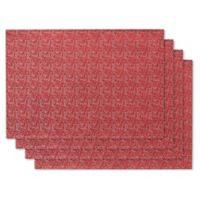 Holiday Shimmer Placemats (Set of 4)