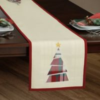 Plaid Tree 90-Inch Reversible Table Runner
