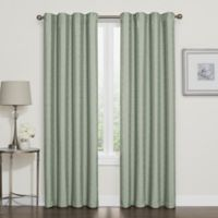 Darcy 63-Inch Rod Pocket/Back Tab 100% Blackout Window Curtain Panel in Spa