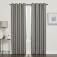 Darcy 63-Inch Rod Pocket/Back Tab 100% Blackout Window Curtain Panel in Grey