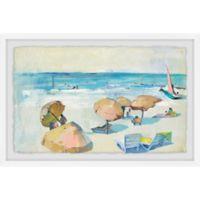 Marmont Hill Tropical Breeze 12-Inch x 8-Inch Framed Wall Art