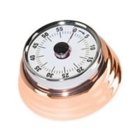 Oggi™ Retro Stainless Steel Kitchen Timer in Copper
