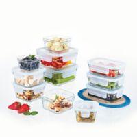 Glasslock 22-Piece Food Storage Set in Aqua