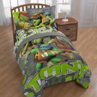 Nickelodeon Teenage Mutant Ninja Turtles® Crash Landing Twin Comforter in Grey