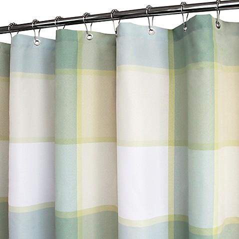 WatershedR By Park B SmithR Portman Shower Curtain In Fresco