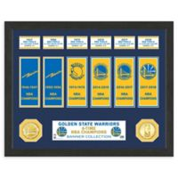 NBA Golden State Warriors 6-Time NBA Champions Banner Collection
