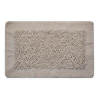 "Chenille Long Noodle 36"" x 24"" Bath Mat in White"