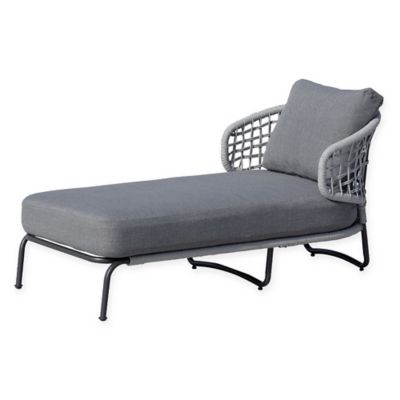 OVE Decors Indiana Outdoor Lounge Chair In Grey