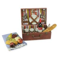 Nortlight 25-Piece Picnic Basket Set in Red