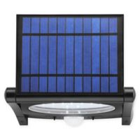 Link2Home 320 Lumen LED Solar Security Adjustable Sensor Light with Photocell Technology