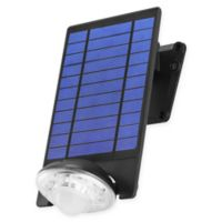 Link2Home 250 Lumen LED Solar Single-Head Sensor Spotlight with Photocell Technology