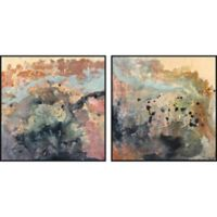 Marmont Hill Color Spill 36-Inch x 18-Inch Framed Diptych Wall Art (Set of 2)