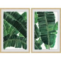Marmont Hill La Habana IV 32-Inch x 24-Inch Framed Diptych Wall Art