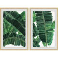 Marmont Hill La Habana IV 48-Inch x 36-Inch Framed Diptych Wall Art