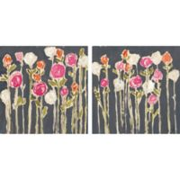 Marmont Hill Rose Garden 36-Inch x 18-Inch Diptych Canvas Wall Art (Set of 2)
