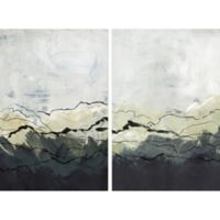 Marmont Hill Deserted Mountains 60-Inch x 45-Inch Framed Diptych Wall Art