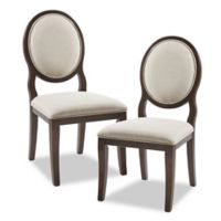 Madison Park Signature™ Microfiber Upholstered Astoria Dining Chair in Silver