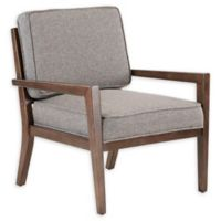 INK+IVY Upholstered Sharon Chair in Brown