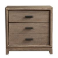 Camilla 2-Drawer Nightstand in Antique Grey