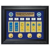 NBA Golden State Warriors 6-Time NBA Champ Deluxe Banner Collection