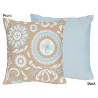 Sweet Jojo Designs Hayden Reversible Throw Pillow