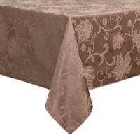 Autumn Vine 60-Inch x 120-Inch Oblong Tablecloth in Mushroom Damask