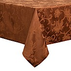 Autumn Vine 60-Inch x 120-Inch Oblong Tablecloth in Bronze Damask