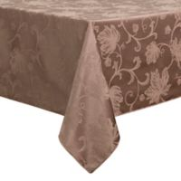 Autumn Vine 60-Inch x 144-Inch Oblong Tablecloth in Mushroom Damask
