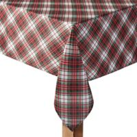 Holiday Tartan Plaid 60-Inch x 144-Inch Oblong Tablecloth