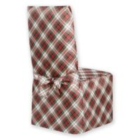 Holiday Tartan Plaid Dining Chair Cover
