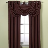 Insola™ Odyssey 95-Inch Insulating Window Curtain Panel in Brown