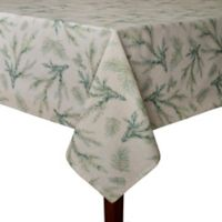 Whispering Pines 60-Inch x 102-Inch Oblong Tablecloth