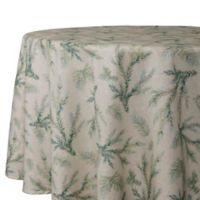 Whispering Pines 70-Inch Round Tablecloth