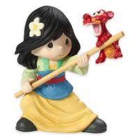 Precious Moments® Disney® Mulan with Mushu Figurine