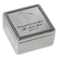 Precious Moments® Baby Footprints Covered Box