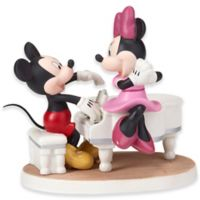 Precious Moments® Disney® Mickey and Minnie with Piano Musical Figurine