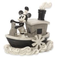 Precious Moments® Disney® Steamboat Willie Mickey Mouse Figurine